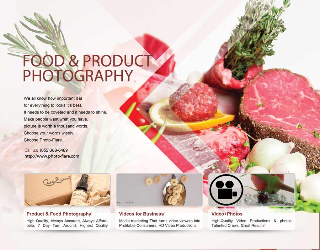 Food-Photographer Flyer No Pricing